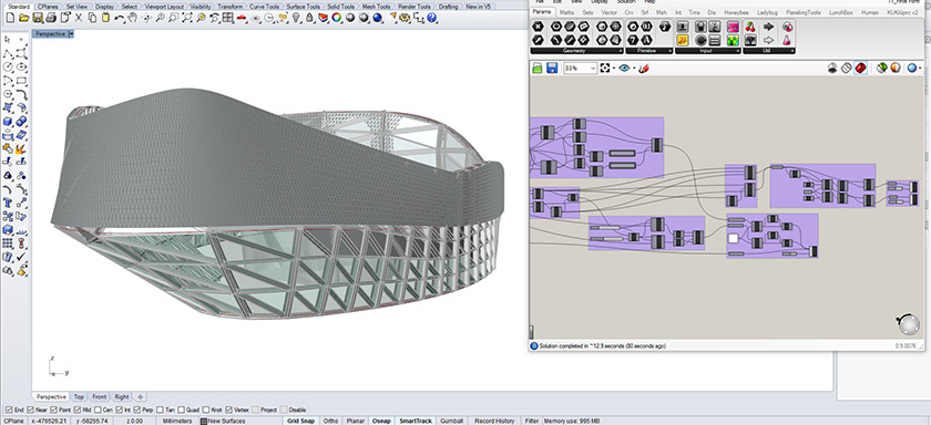Parametric Architecture with Grasshopper
